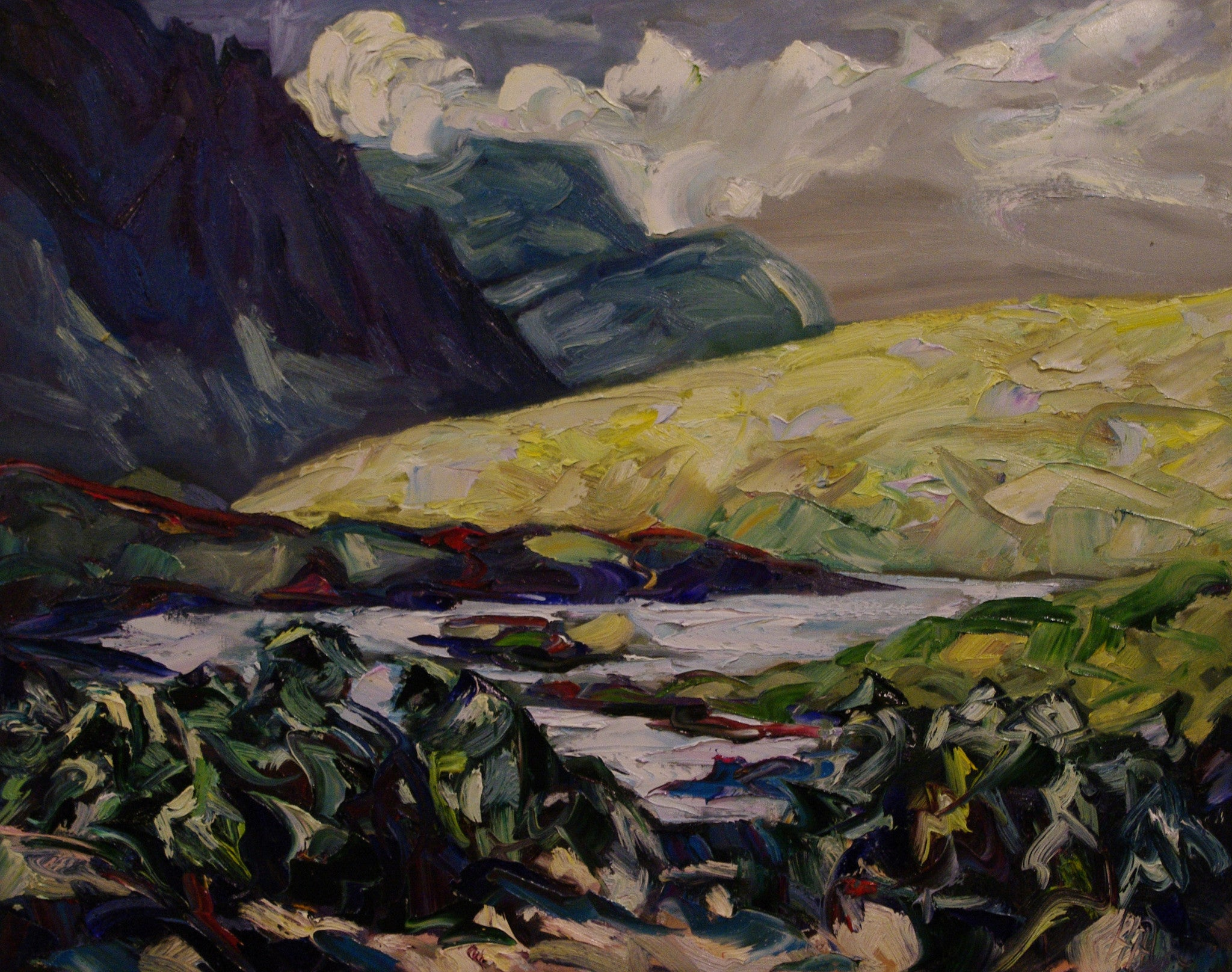 Blackstone Bend - SOLD - Halin de Repentigny - painting