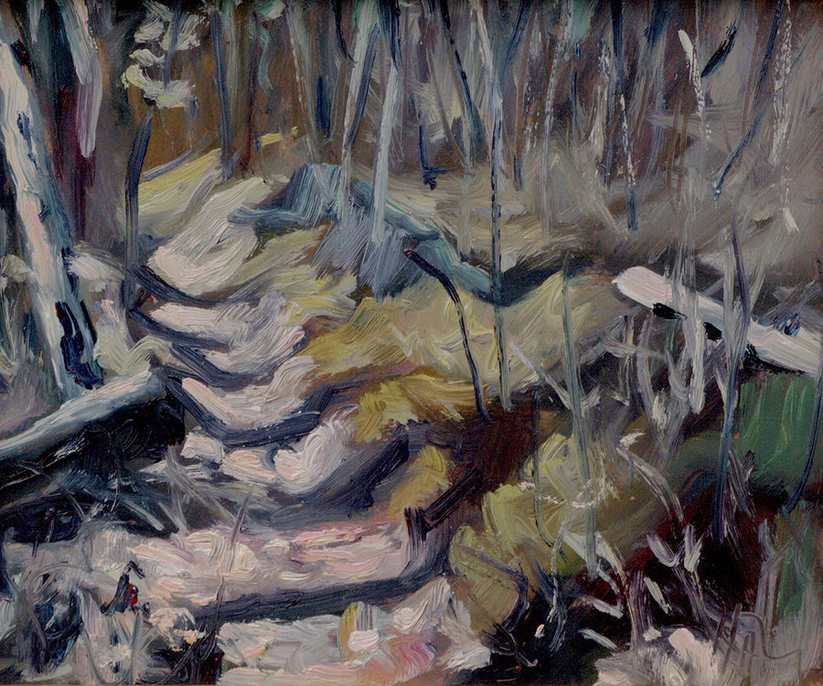Bush Study - Halin de Repentigny - Paintings