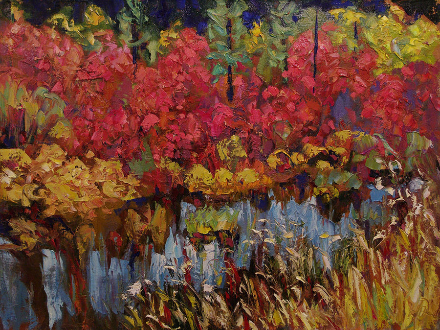 Color Salad - SOLD - Halin de Repentigny - painting