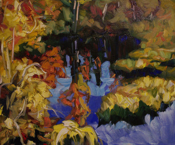 Composition - Halin de Repentigny - painting
