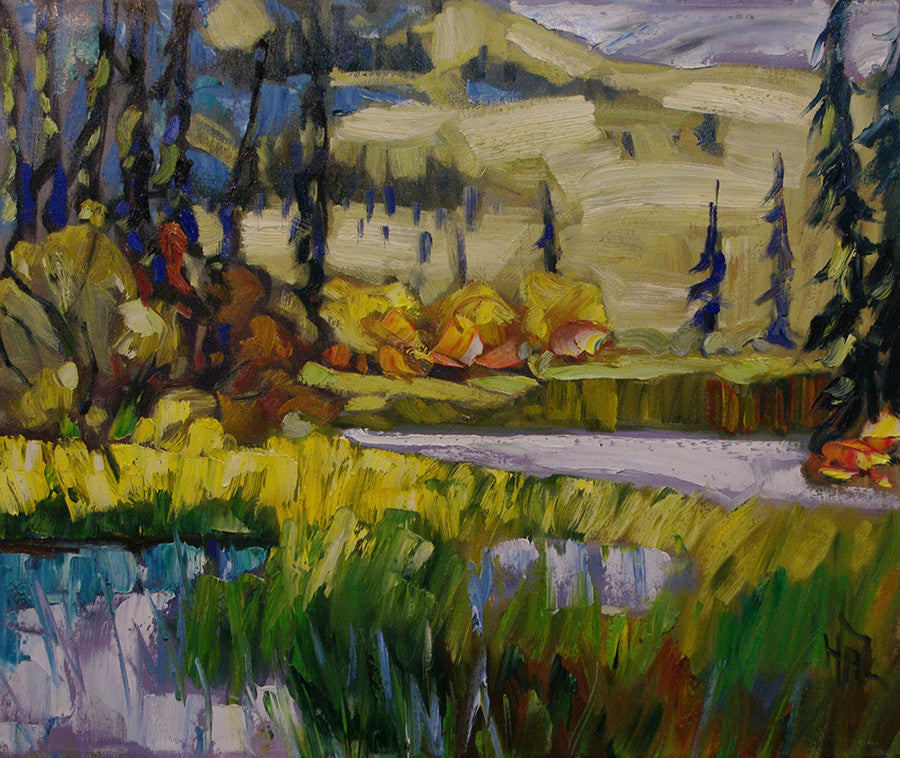 Dempster K160 SOLD - Halin de Repentigny - painting