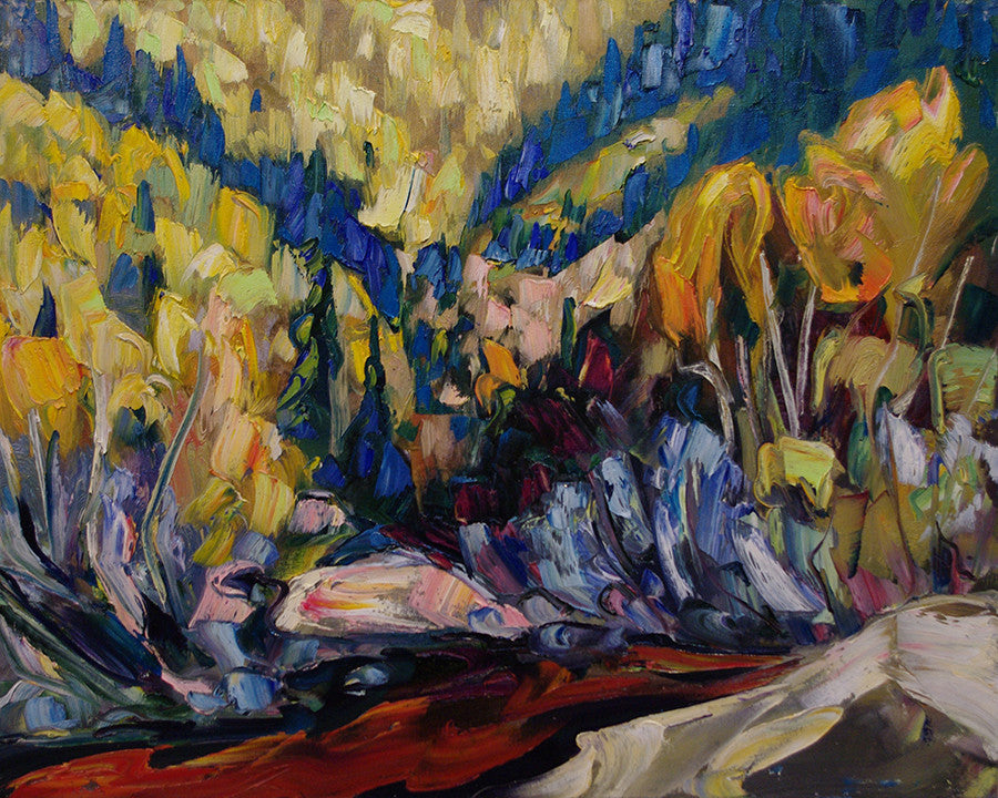Full Spectrum SOLD - Halin de Repentigny - painting