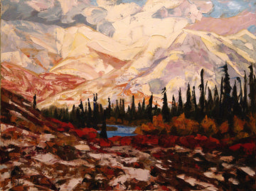 October SOLD - Halin de Repentigny - painting