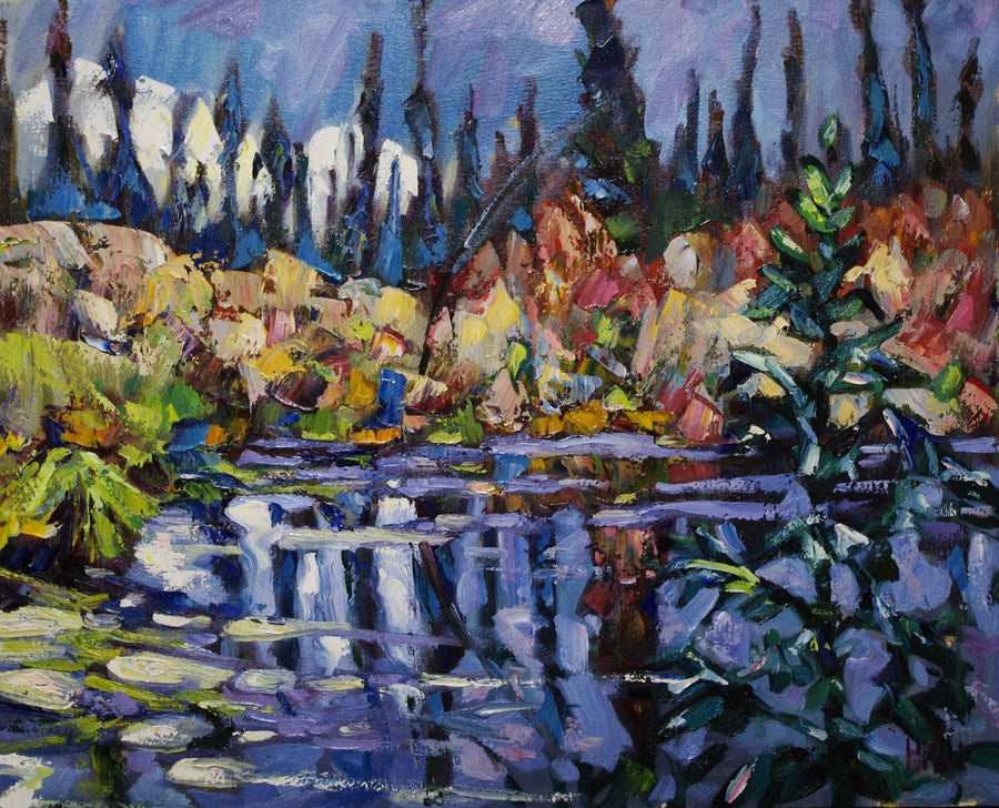 Musical Change - Halin de Repentigny - painting