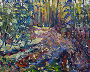 Old Dawson Road SOLD - Halin de Repentigny - painting