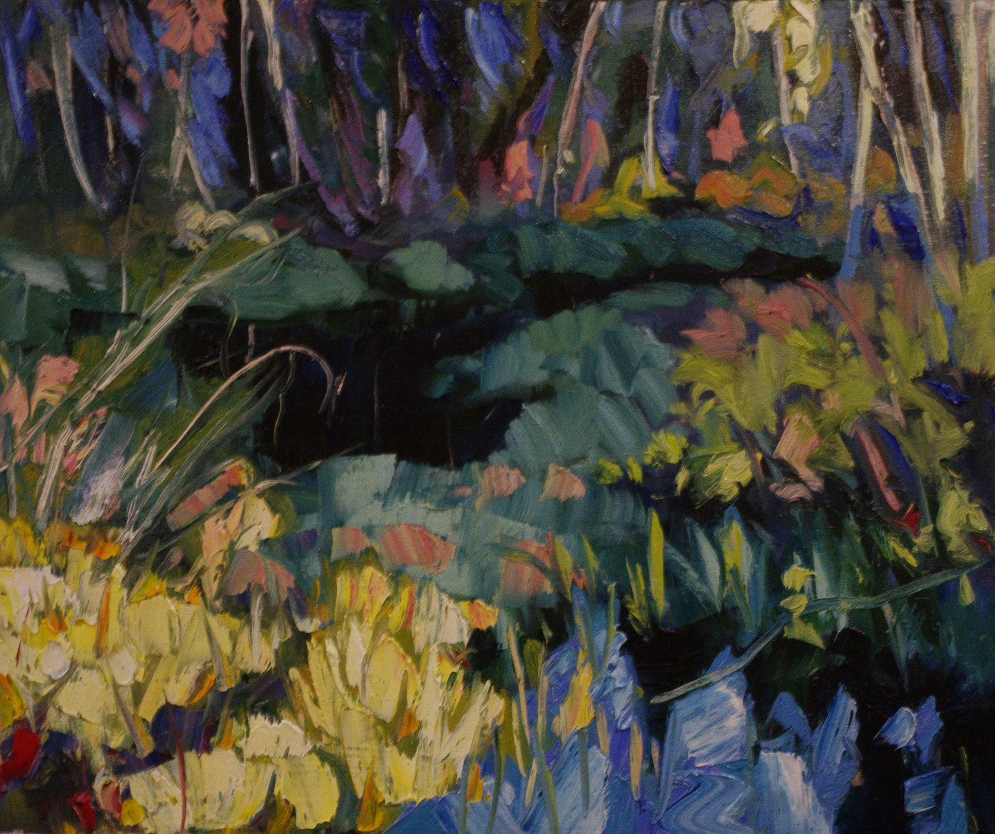 Pond In Fall SOLD - Halin de Repentigny - painting