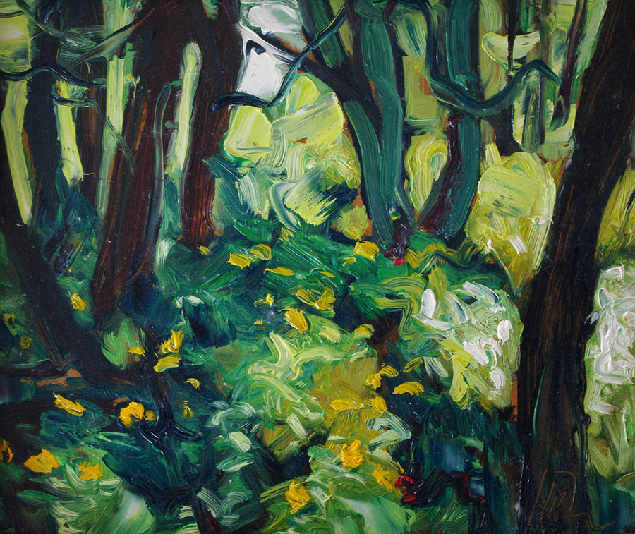 Rain Forest - Halin de Repentigny - painting