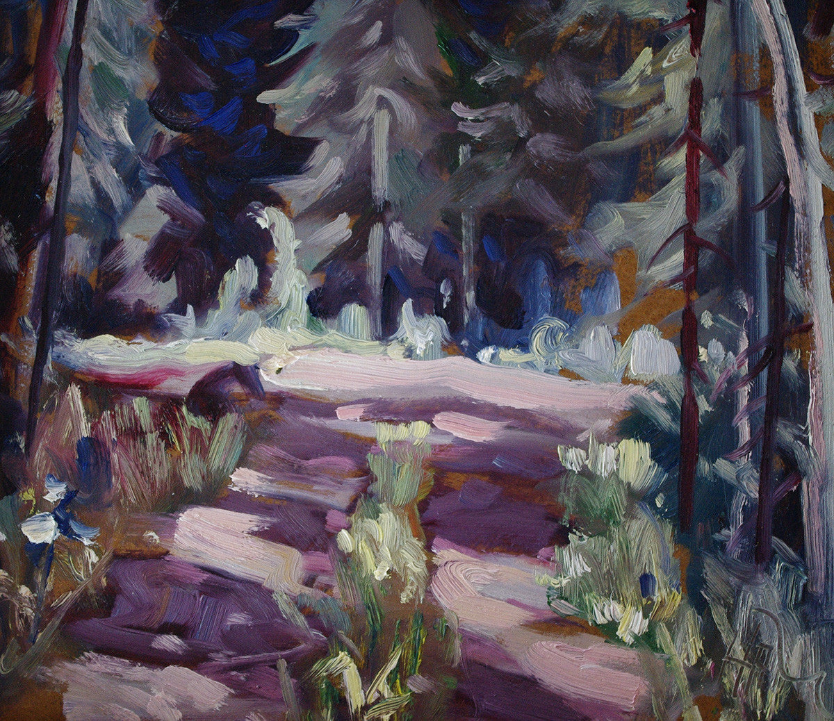 Road SOLD - Halin de Repentigny - painting