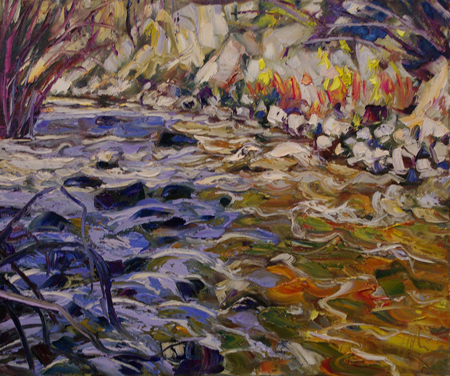 Study Of Bonanza SOLD - Halin de Repentigny - painting