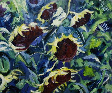 Sunflower SOLD - Halin de Repentigny - painting
