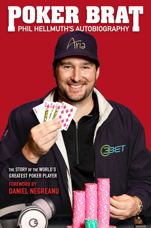 Phil Hellmuth poker book