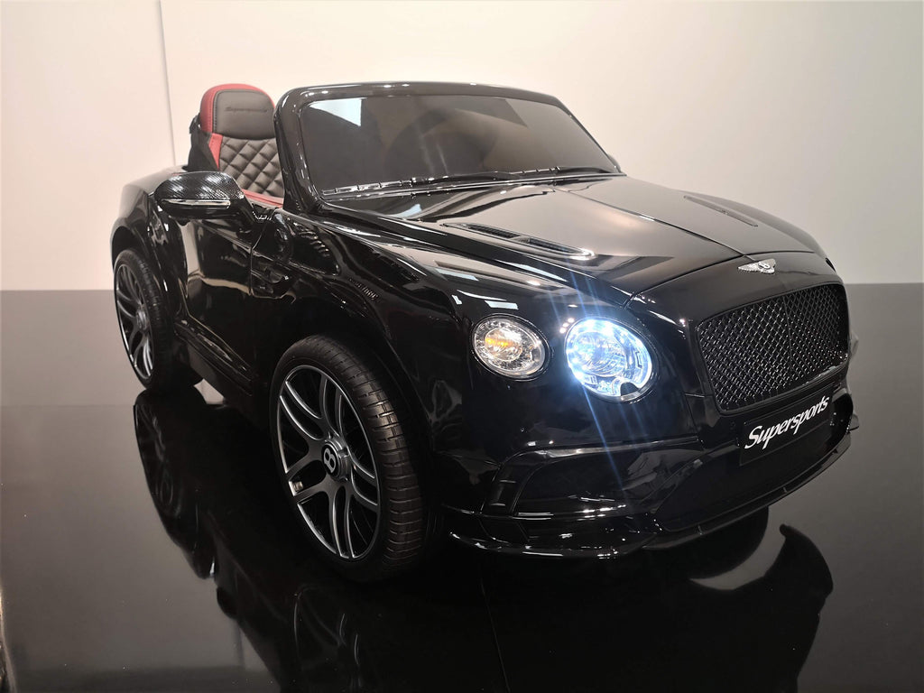 Bentley Continental Noir métallisé - Deux places, 12v [Version Luxe]