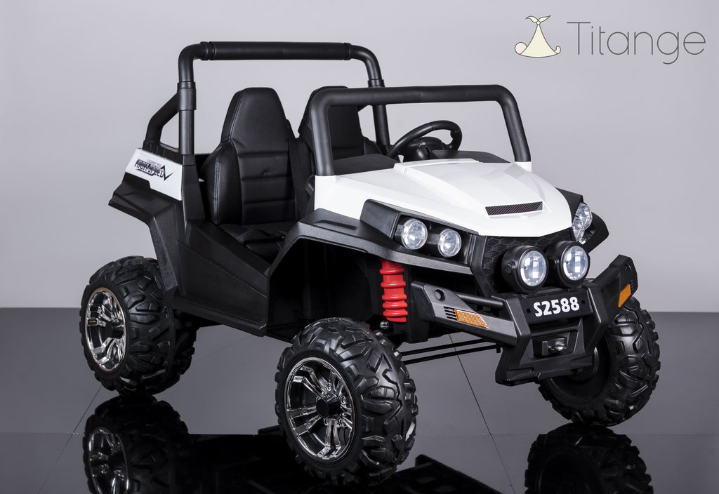 Buggy XXL [4Mot, 2x 12V] - Version Luxe