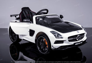 Mercedes SLS AMG - Blanc [Full Option]