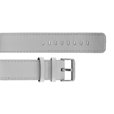 Gray Leather Strap