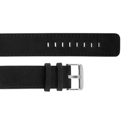 Replacement Strap - Black Leather Strap