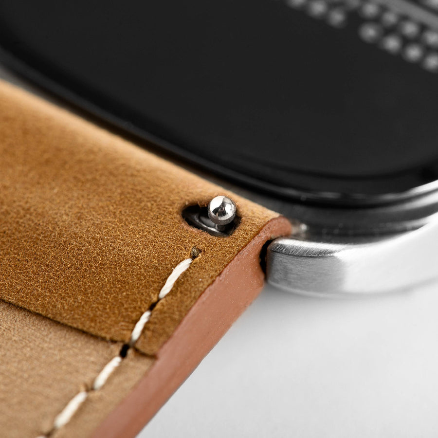 Replacement Strap - Brown Leather Strap