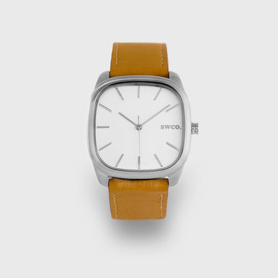 Watch - ICON Classic - Silver / Tan