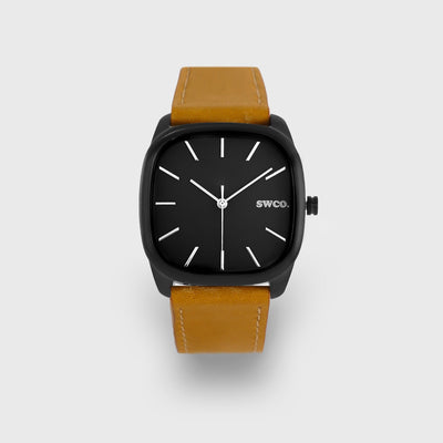 Watch - ICON Midnight - Black / Tan