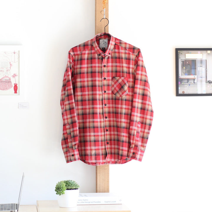 Japanese Flannel | Red Plaid - Is this Menswear?  - 1
