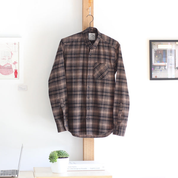 Japanese Flannel | Brown Check - Is this Menswear?  - 1