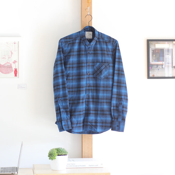 Japanese Flannel | Blue Check - Is this Menswear?  - 1