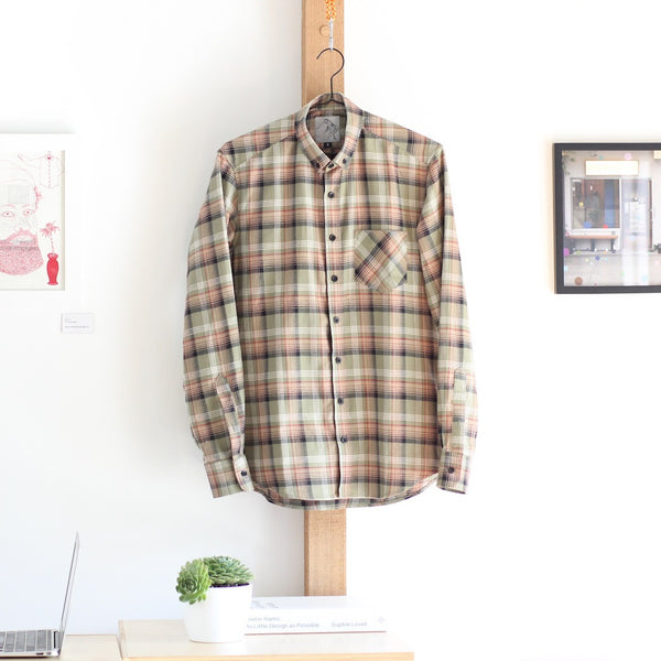 Japanese Flannel | Green Plaid - Is this Menswear?  - 1