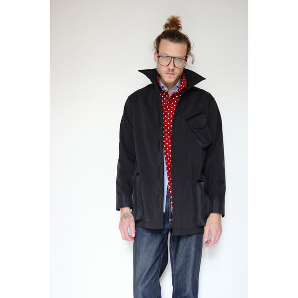 Dintex Field Coat | Black - Is this Menswear?  - 1