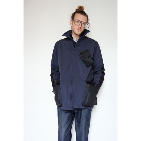 Dintex Field Coat | Navy - Is this Menswear?  - 1