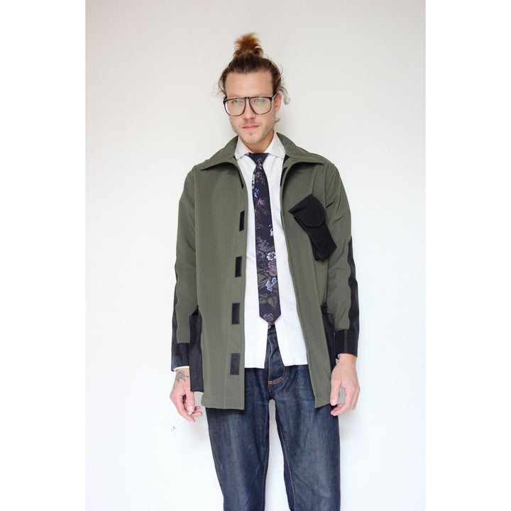 Dintex Field Coat | Olive - Is this Menswear?  - 1