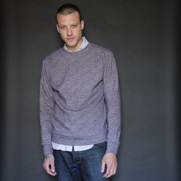 Sweatshirt | Heather Purple - Is this Menswear?  - 1