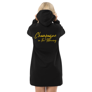Champagne Mornings Hoodie dress