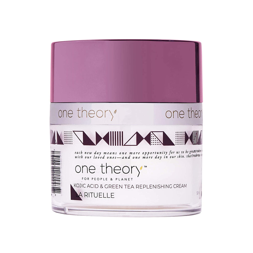 One Theory | La Rituelle™ | Kojic Acid & Green Tea Replenishing Cream Moisturizer | 1.7 fl oz