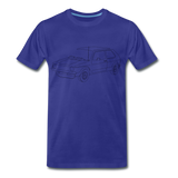 Männer T-Shirt LineArt VW Golf I GTI - royal blue