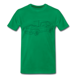 Männer T-Shirt LineArt VW Golf I GTI - kelly green
