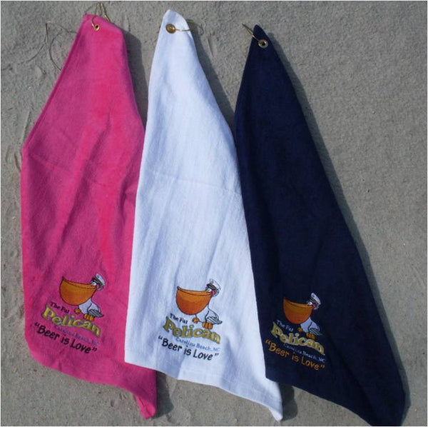 100% COTTON GOLF TOWELS