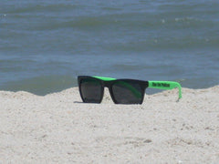 Lime Green Sun Glasses