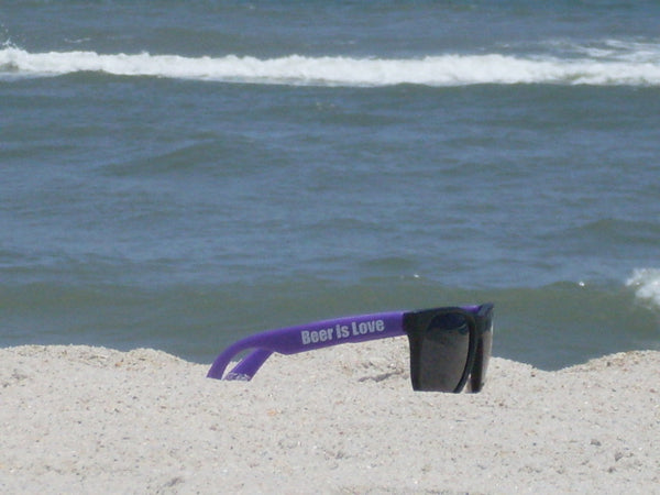 Purple Sun Glasses