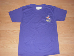 Men's Solid Purple T-Shirt