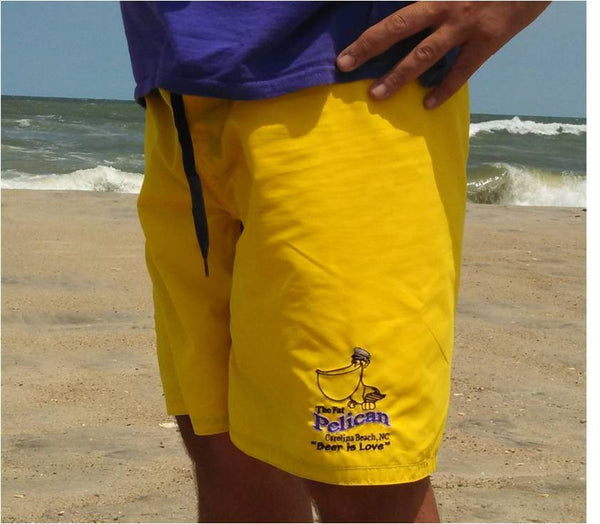 Men's Board Shorts Yellow
