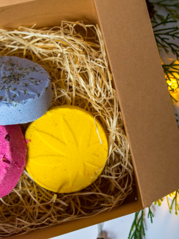 Cannabina Bath Bomb Trio
