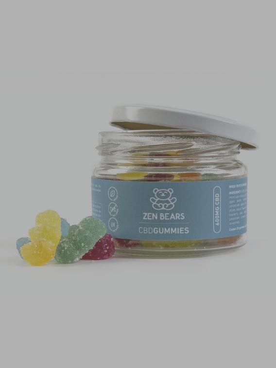 Zen Bears CBD Gummies Cannabina