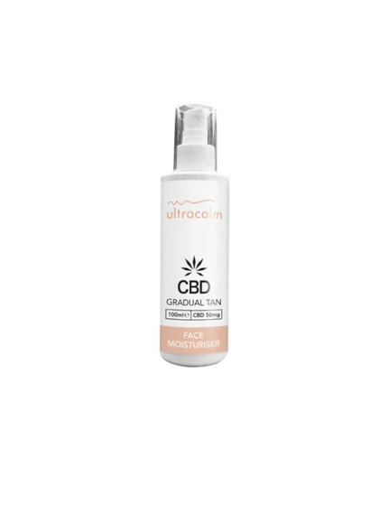 CBD Gradual Facial Tan 100ml (50mg CBD)