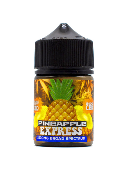 Orange County 'Cali Range' Vape Juice - Pineapple Express 50ml (Zero THC)