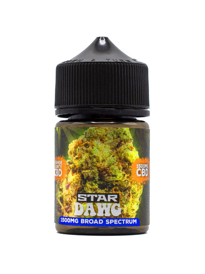 Orange County 'Cali Range' Vape Juice - Star Dawg 50ml (Zero THC)