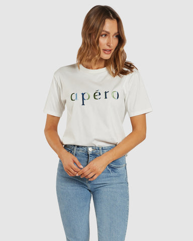 APERO JOURNEY EMBROIDERED TEE