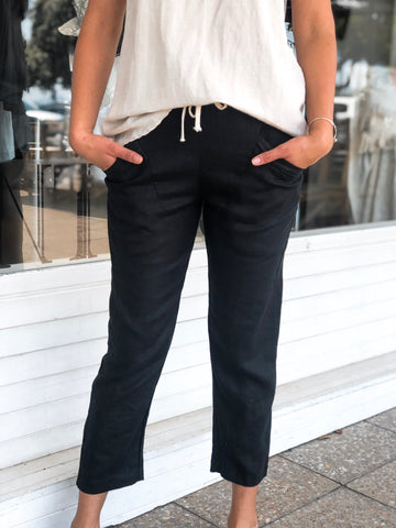 LUXE PANT - BLACK