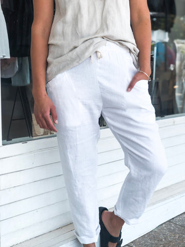 LUXE PANT - WHITE