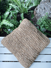 Load image into Gallery viewer, ISLAND RAFFIA CUSHION COVER
