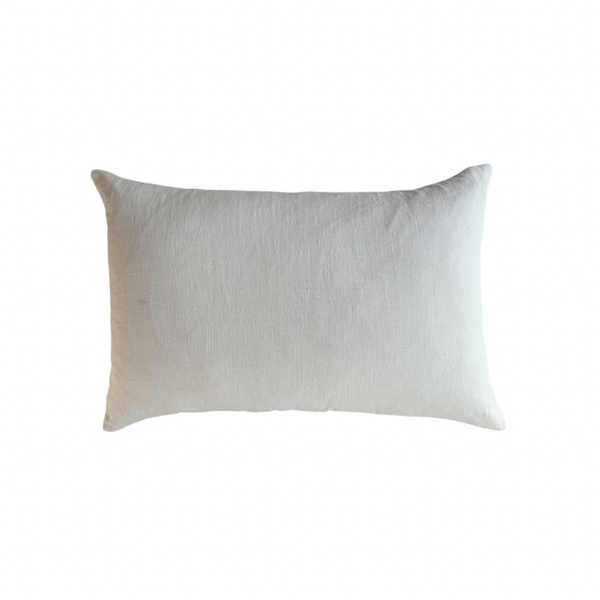 RAMIE LUMBAR CUSHION - CHALK